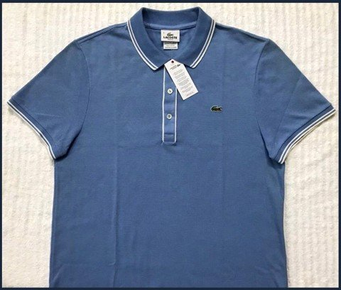 "AN 16 - ÁO THUN nam polo"" LACOSTE "" size 4/M slim _65-70kg "" made in peru """