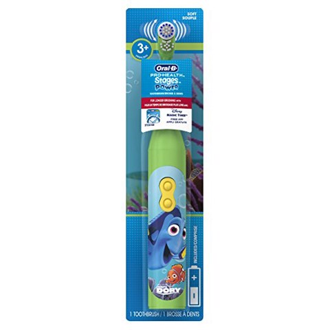 Bàn chải pin (2 x AA) Oral-B Pro-Health Stages - Finding Dory