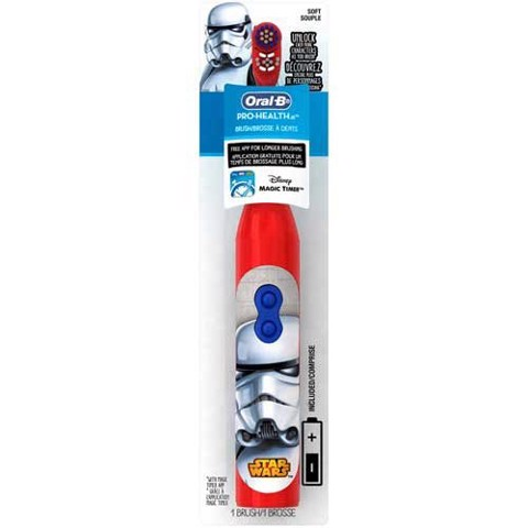 Bàn chải pin (2 x AA) Oral-B Pro-Health Stages - Star Wars