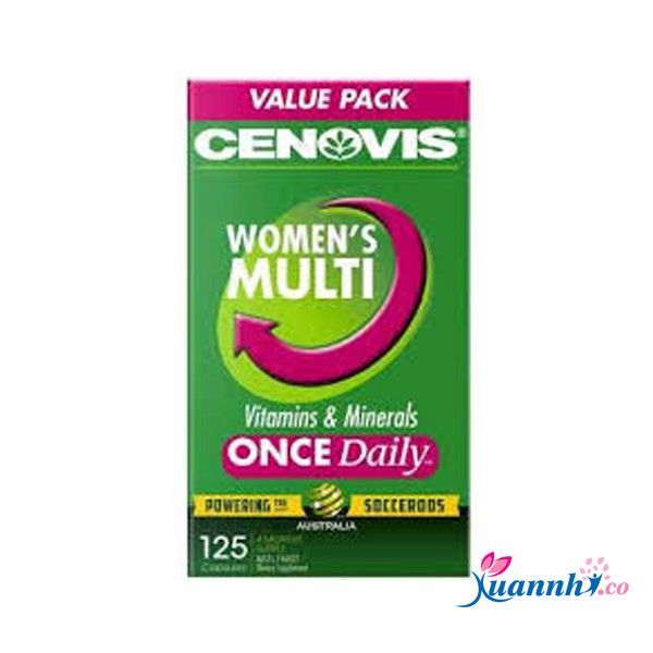 Vitamin tổng hợp Cenovis cho nữ Women's Multivitamin And Minerals