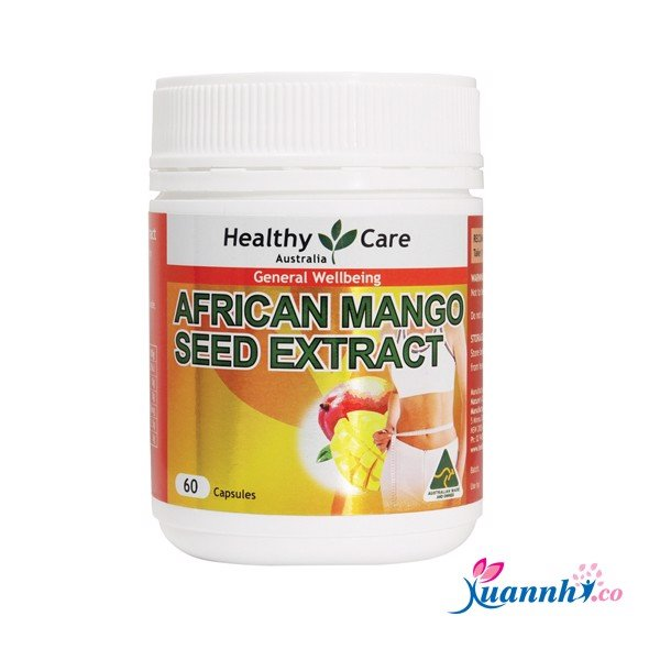 Thuốc giảm cân Healthy Care African Mango Seed Extract