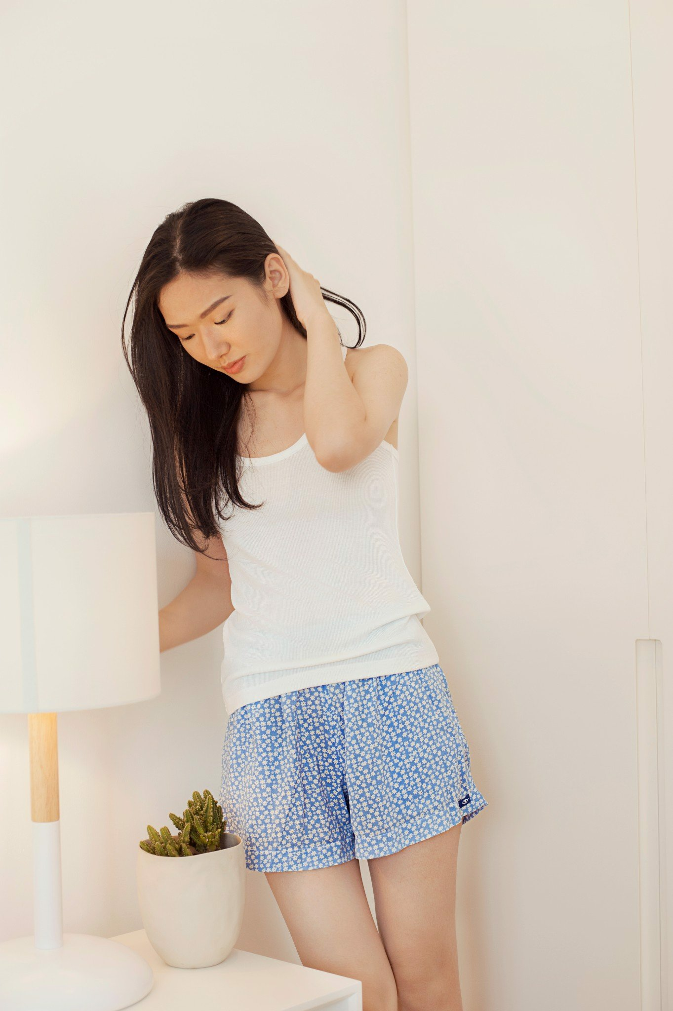 BLUE SLEEPY SHORT