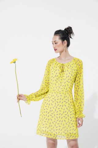 LEMON DAISY DRESS