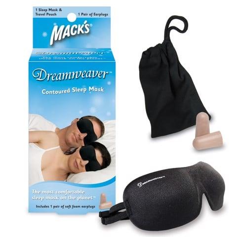 Bịt mắt ngủ Mack's Mỹ chính hãng (tặng kèm bịt tai chống ồn)