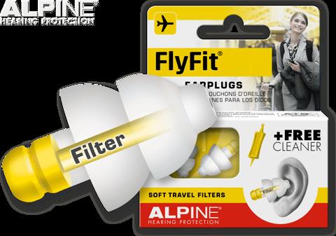 Nút bịt tai chống ồn đi máy bay Alpine Flyfit Hà Lan