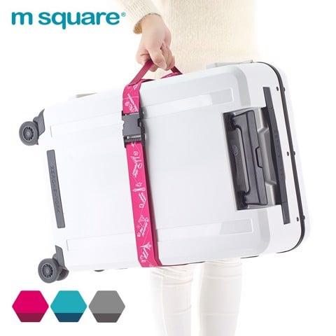 Dây đai vali đơn Msquare 180cm size M