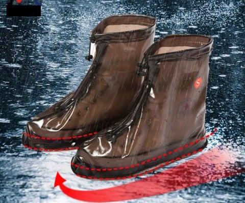Giày đi mưa nam nữ cổ vừa HOT 2017