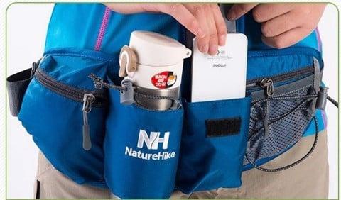 Túi đeo hông đựng điện thoại bình nước Naturehike