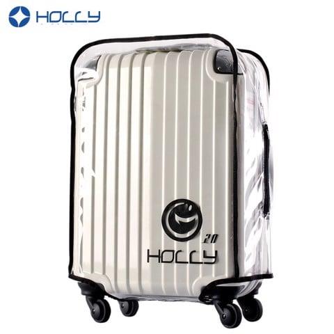 Túi bọc vali trong suốt Holly (Viền Đen) chống nước
