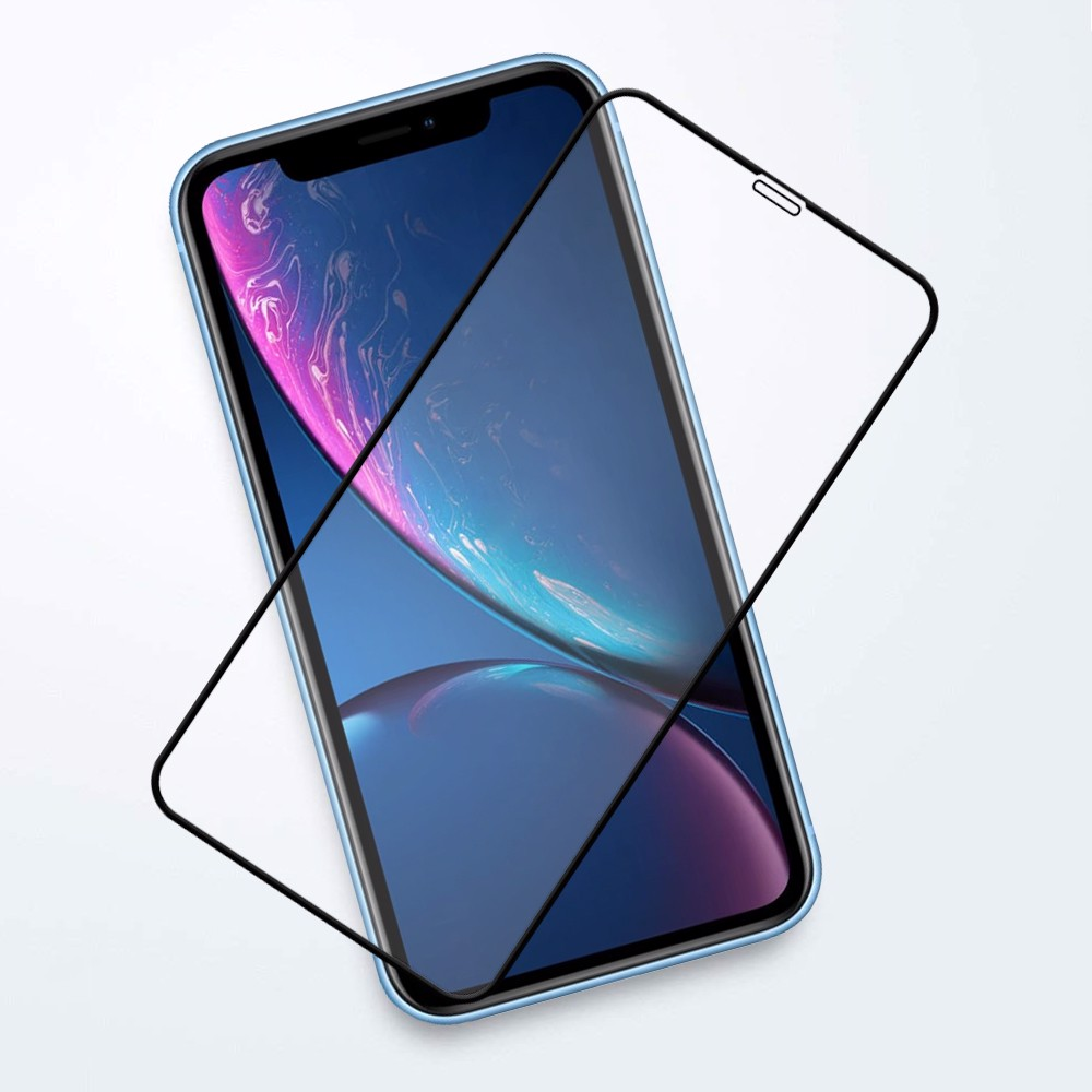 Kính CL iPhone XR FULL Trong suốt 0.2mm
