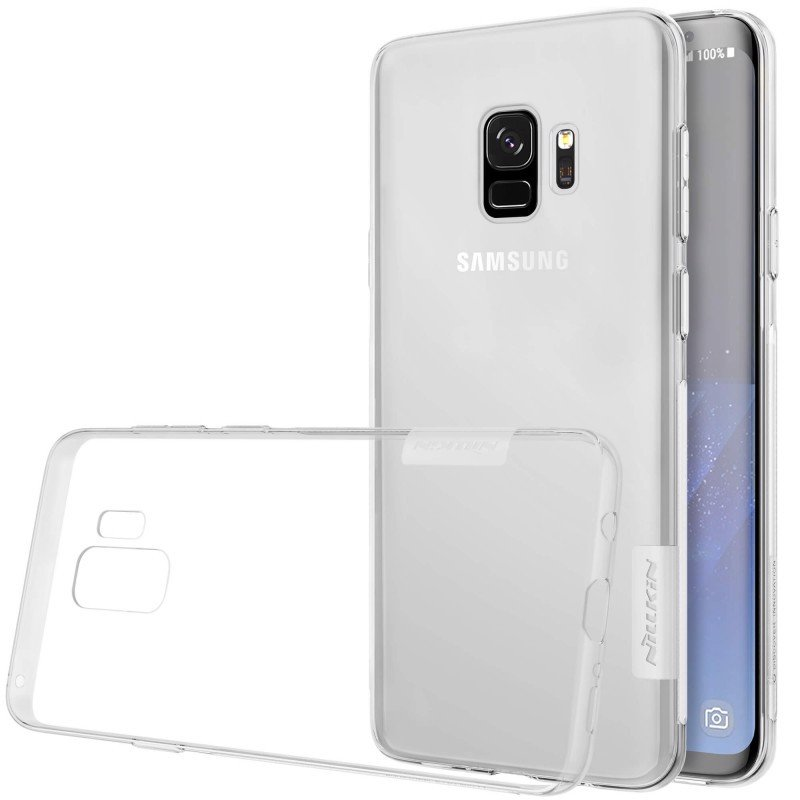 Ốp lưng Samsung S9 Nillkin Dẻo Trong suốt
