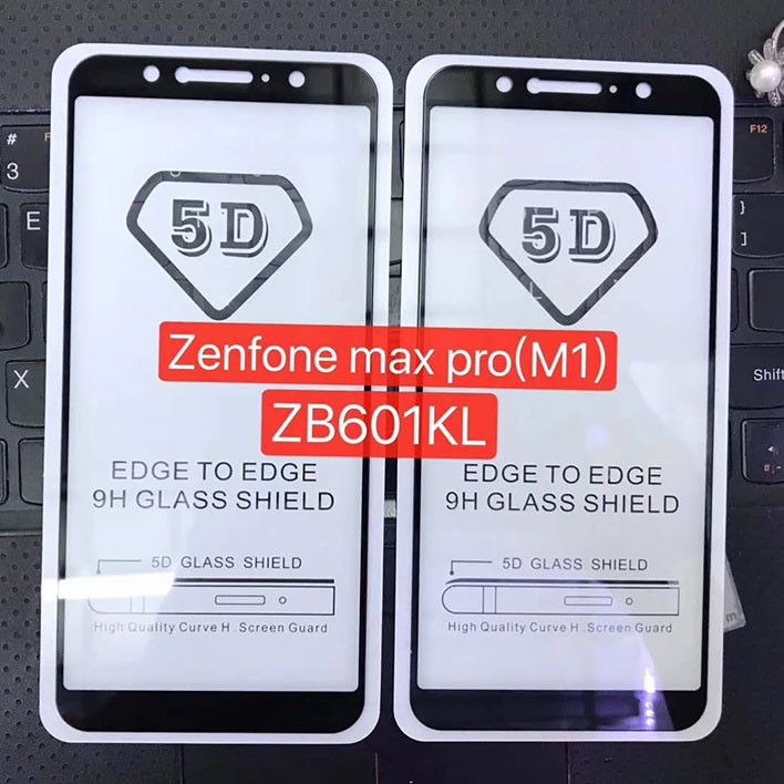 Kính CL Asus Zenfone MAX PRO M1 FULL màn,FULL KEO Silicon