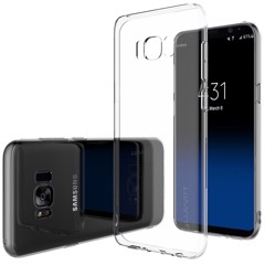 Ốp lưng Samsung S8 Silicon Dẻo trong suốt