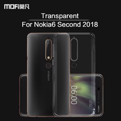 Ốp lưng Nokia 6 New 2018 Silicon Dẻo Loại tốt trong suốt