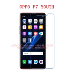 Kính CL OPPO F7 Youth (Ko full)