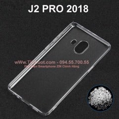 Ốp lưng Galaxy J2 Pro 2018 Silicon Dẻo trong suốt