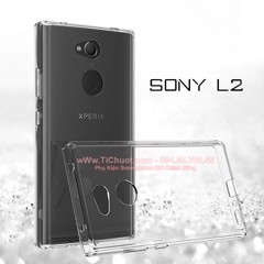Ốp lưng Sony L2 i-Smile Dẻo trong suốt
