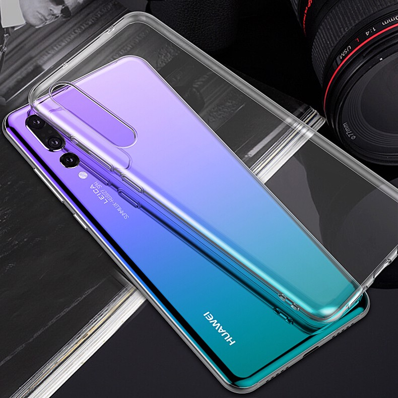 Ốp lưng Huawei P20 Pro Silicon Dẻo Loại Tốt trong suốt