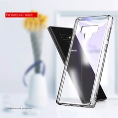 Ốp lưng Samsung Note 9 chống sốc trong suốt viền dẻo