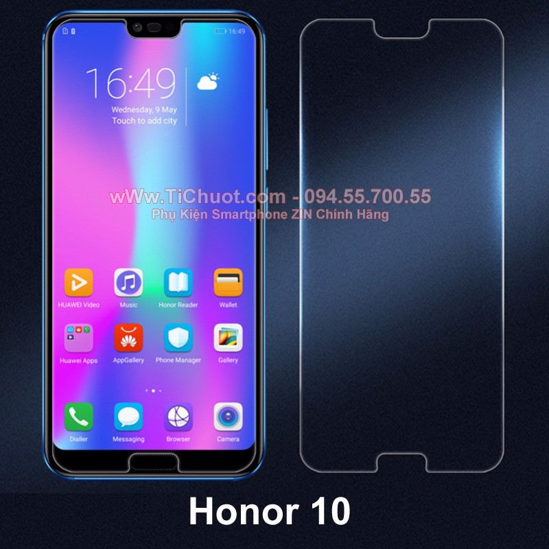 Kính CL Honor 10 (Ko Full)