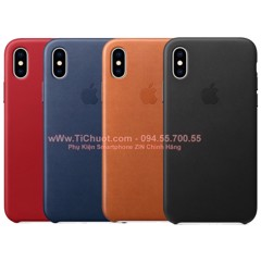 Ốp Lưng Da iPhone X/ XS