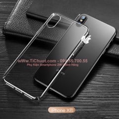 Ốp lưng iPhone XR TOTU Dẻo Trong suốt