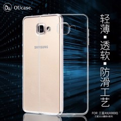 Ốp lưng Samsung A9 Pro OuCase Dẻo trong suốt