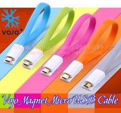 Cáp VOJO Magnet 3 MicroUSB 25cm Andoird & Windows Phone
