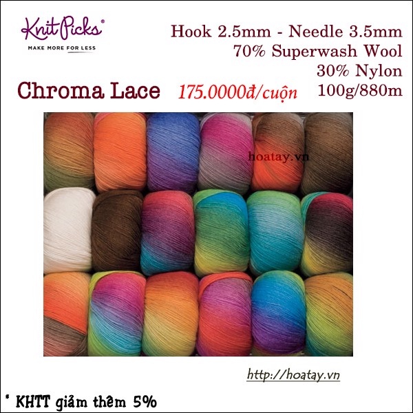 Knitpick Chroma Lace
