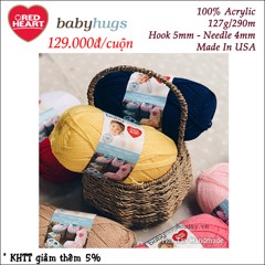 Len Red Heart Baby Hugs USA