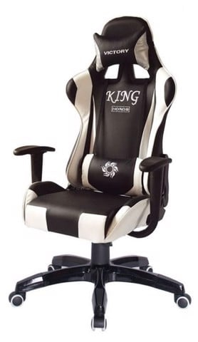 Ghế Chơi Games PlayChair 2700 Black-White King