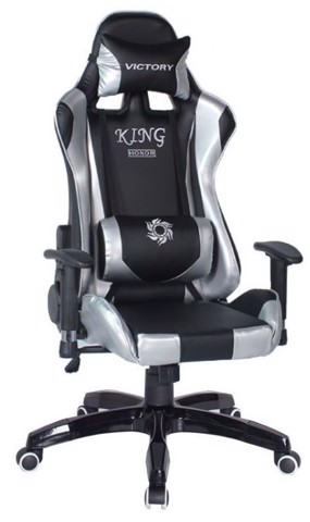 Ghế Chơi Games PlayChair 2700 Black-Silver King