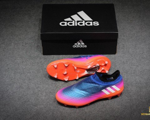 adidas Messi 16+ Pureagility Blue/White/Solar Orange