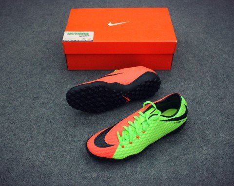 HYPERVENOM PHELON III TF ELECTRIC GREEN/BLACK/HYPER ORANGE