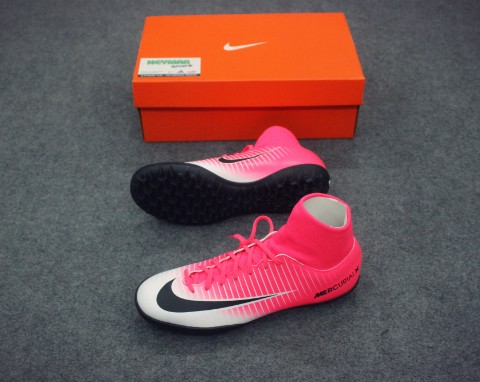 NIKE MERCURIAL VICTORY VI DF TF RACER PINK/BLACK/WHITE