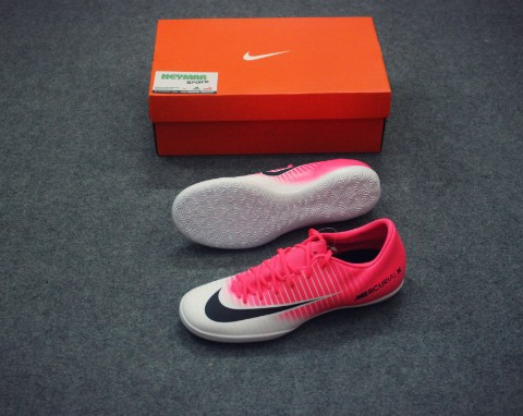 MERCURIAL VICTORY VI IC RACER PINK/BLACK/WHITE