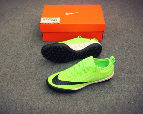 NIKE MERCURIALX FINALE II TF GREEN /BLACK/FLASH LIME