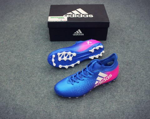 ADIDAS CHAOS X 16.3 AG BLUE/WHITE/SHOCK PINK