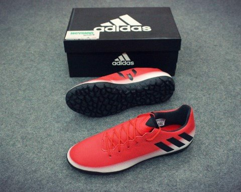 ADIDAS MESSI 16.3 TF RED/WHITE/CORE BLACK