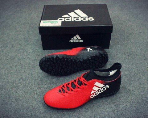 ADIDAS CHAOS X 16.3 TF RED/WHITE/CORE BLACK