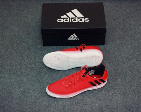 adidas Messi 16.3 IN Red Limit - Red/Core Black/Feather White
