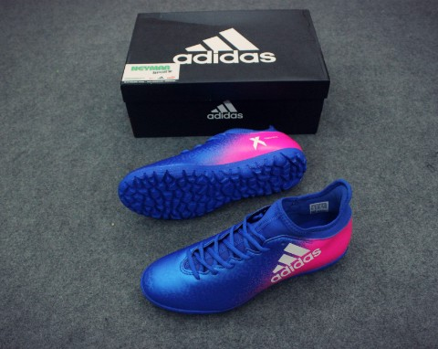 ADIDAS CHAOS X 16.3 TF BLUE/WHITE/SHOCK PINK