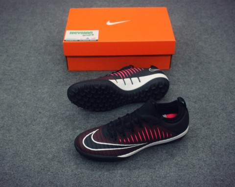 NIKE MERCURIALX FINALE II TF TEAM RED/BLACK/RACER PINK