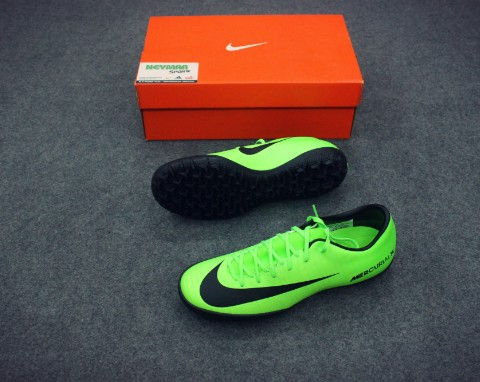 NIKE MERCURIAL VICTORY VI TF GREEN /BLACK/FLASH LIME