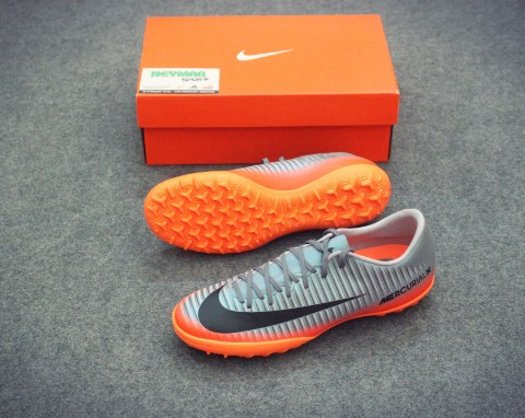 NIKE MERCURIAL VICTORY VI CR7 TF COOL GREY/METALLIC/HEMATITE/WOFT GEY