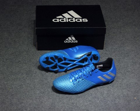 adidas Messi 16.2 FG/AG - Shock Blue/Matte Silver/Core Black