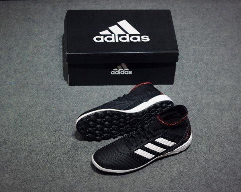 adidas Predator Tango 18.3 TF Skystalker - Core Black/Footwear White/Solar Red