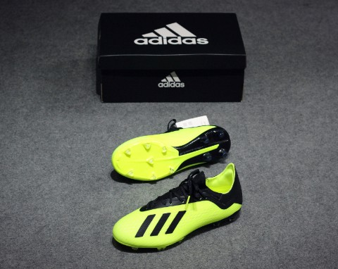 ADIDAS X TANGO 18.2 FG TEAM MODE - SOLAR YELLOW/ CORE BLACK/ WHITE