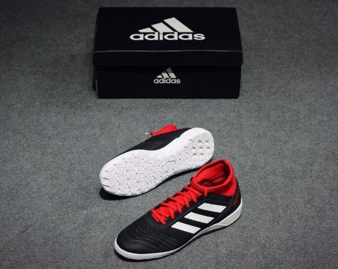 adidas Predator Tango 18.3 IN Team Mode - Core Black/Footwear White/Solar Red