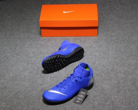 NIKE MERCURIAL SUPERFLYX 6 ACADEMY TF ALWAYS FORWARD - RACER BLUE/BLACK